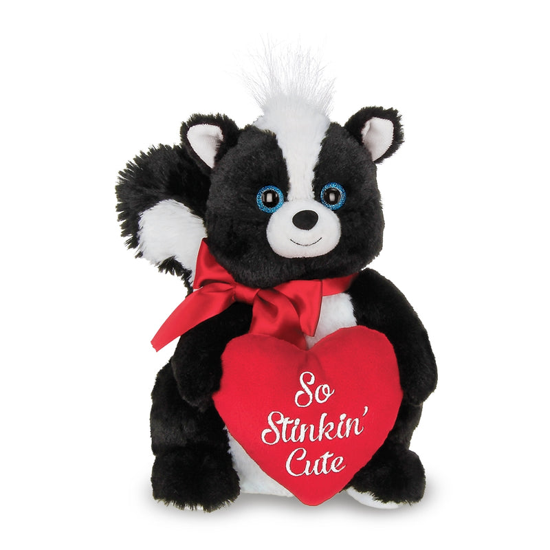 Romantic Animals: Hedgehog Couple, Sloth & Skunk-So Cute! Handmade - The Pink Pigs, A Compassionate Boutique