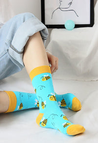 Cutest Honey Bee Socks for the Bee Lovers-The Pink Pigs, A Compassionate Boutique