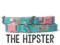 Very Vintage Hipster Pet Collars, Leashes, Harness