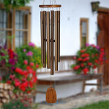Amazing Grace Wind Chimes by Woodstock Chimes-Bronze or Silver, 3 sizes - The Pink Pigs, Fine Jewels and Gifts for People who Love Animals!