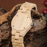 Bamboo/Wooden Jaguar/Leopard Watch for Ladies! Jaguars Fans LOOK! - The Pink Pigs, Fine Jewels and Gifts for People who Love Animals!