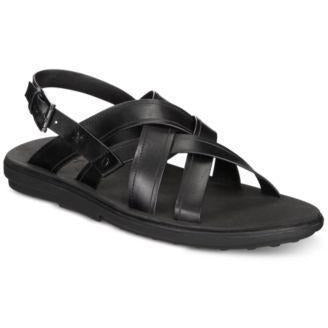 Bar III Julian Men's Sandals- Black-The Pink Pigs, A Compassionate Boutique