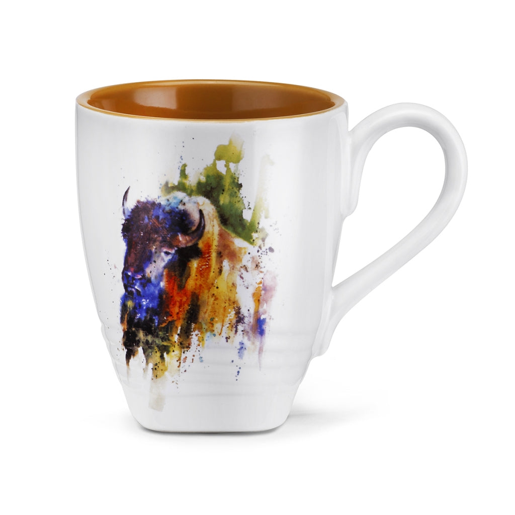 Western Inspired Mugs, Art & Household Items:  Horses, Bison, Long Horns & MORE Western Finds!