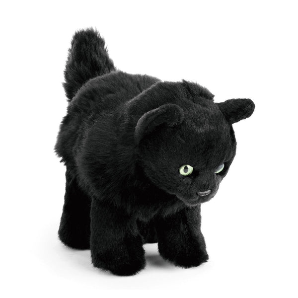 Lifelike Plush Cats Small 7.5 Inch-Persian, Black Cat, Black and White Cat-The Pink Pigs, A Compassionate Boutique