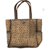 Born to be Wild Jane Marie Leopard Print Travel Totes & Beach Towel-The Pink Pigs, A Compassionate Boutique