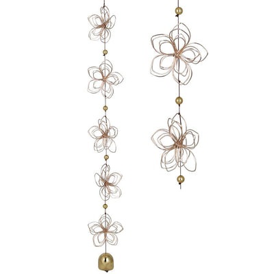Butterfly & Lotus Quintet Garden Cascade by Woodstock Chimes-The Pink Pigs, A Compassionate Boutique