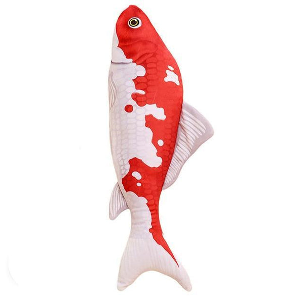 Cat Toys with Catnip Plush Stuffed Fishes Cutest Interactive Cat Chew Toys Magic the Cat APPROVED!-The Pink Pigs, A Compassionate Boutique