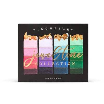 Finchberry Soap Jewel Tone Collection 4 Bar Gift Box