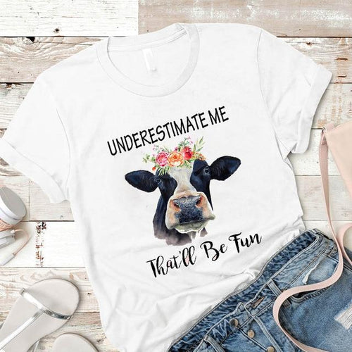Cow Shirts for the Ladies with Something to Say!  Adorable Heifer Tops, Fine Quality!