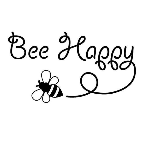 Cute Honey Bee Stickers for Car or Anywhere!-The Pink Pigs, A Compassionate Boutique