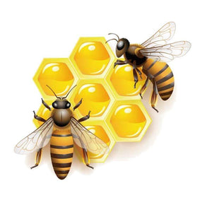 Cute Honey Bee Stickers for Car or Anywhere! - The Pink Pigs, Fine Jewels and Gifts for People who Love Animals!