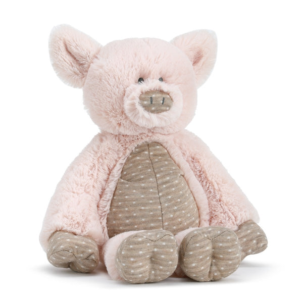 Barnyard Pig or Cow Plush Soft Toy & Baby Blankie SO CUTE!-The Pink Pigs, A Compassionate Boutique