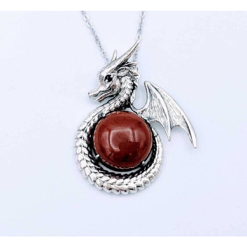 Game of Thrones Dragon Necklace and Ring-Sterling Silver - The Pink Pigs, Fine Jewels and Gifts for People who Love Animals!