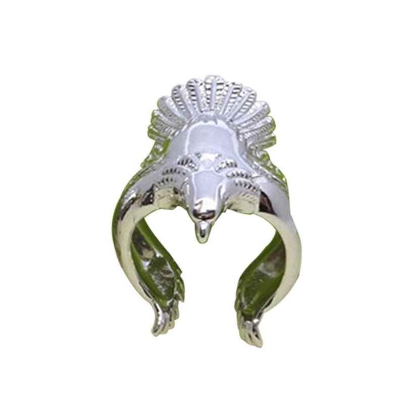 Eagle Men's Ring, Punk Men's Ring, very Unique! For the Biker or Patriot! - The Pink Pigs, A Compassionate Boutique