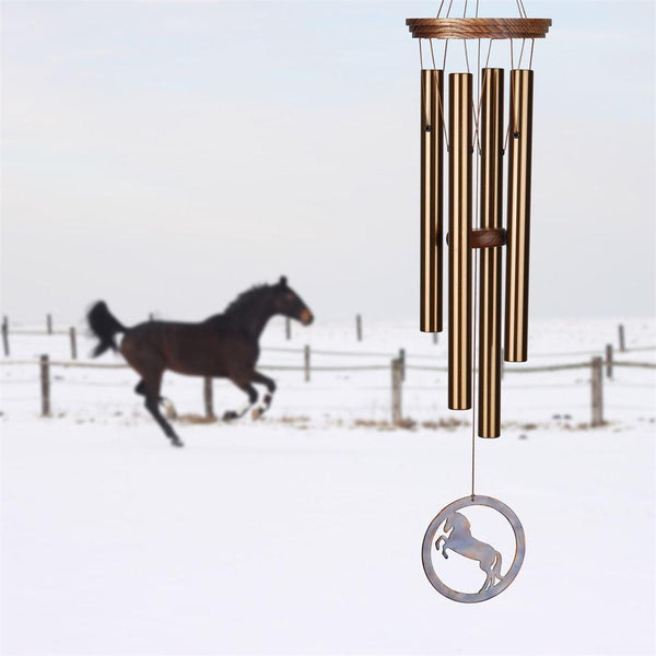 Equestrian Spirit Chime by Woodstock Chimes for Our Horse Loving Friends!-The Pink Pigs, A Compassionate Boutique