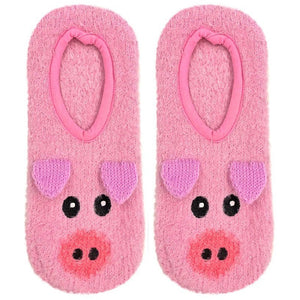 SALE! Fuzzy Slipper Socks, Pig, Cat, Dog, Unicorn, Llama, Cow & More!