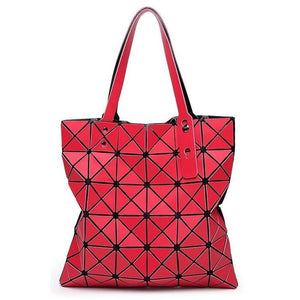 Geometric Totes-Laser Cut-Great Colors!  Get noticed!