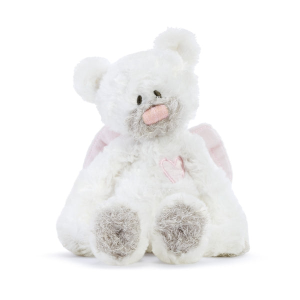 Guardian Angel Bears- Pink & Blue Beautiful gifts for babies!-The Pink Pigs, A Compassionate Boutique