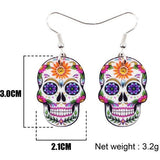 Halloween Acrylic Earrings-- Boo! - The Pink Pigs, Fine Jewels and Gifts for People who Love Animals!