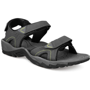 Heritage Weatherproof Men's Brighton Sandals - Dark Shadow Gray - The Pink Pigs, Fine Jewels and Gifts for People who Love Animals!