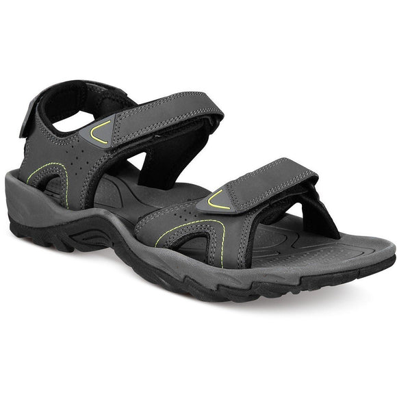 Heritage Weatherproof Men's Brighton Sandals - Dark Shadow Gray-The Pink Pigs, A Compassionate Boutique