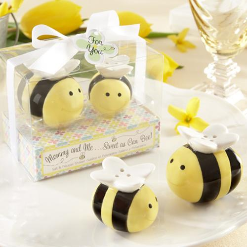 Honey Bee Salt and Pepper Shakers and Honey Pot-TOO cute!-The Pink Pigs, A Compassionate Boutique