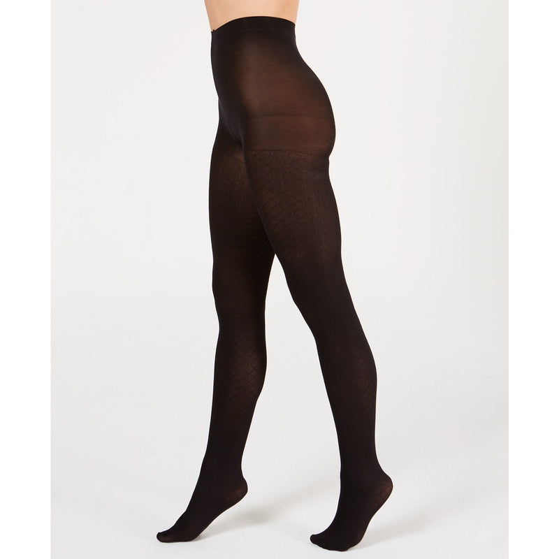 Hue Control-Top Diamond Tights - The Pink Pigs, A Compassionate Boutique