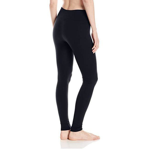 Hue Moto Brushed & Fleece Lined Seamless Leggings-The Pink Pigs, A Compassionate Boutique