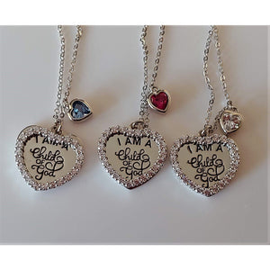 I AM A CHILD OF GOD Sterling Silver Inspirational Necklace-SALE!  Only $49.95!