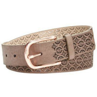 INC International Concepts Perforated Belt-Several Colors FAUX Leather-The Pink Pigs, A Compassionate Boutique