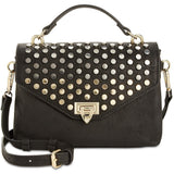 INC Studded Vegan Crossbody Handbag Top Handle Gorgeous!-The Pink Pigs, A Compassionate Boutique