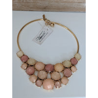 Kate Spade Pink Bib Necklace-The Pink Pigs, A Compassionate Boutique
