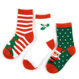 Kids Christmas Socks 3pr Pack, 4-7 year olds