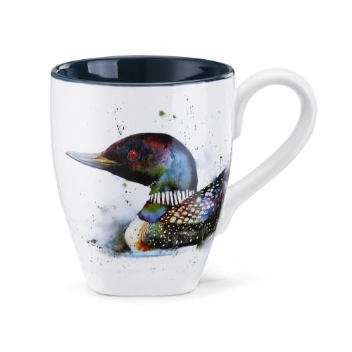 Watercolor Bird Mugs by Artist Dean Crouser -High Quality, Beautiful! - The Pink Pigs, A Compassionate Boutique