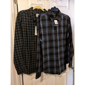 Men's Designer Flannel Shirts Size Lrg - The Pink Pigs, Fine Jewels and Gifts for People who Love Animals!