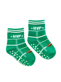 Fun Socks For You and Your Mini - Quarterback & MVP Football-The Pink Pigs, A Compassionate Boutique