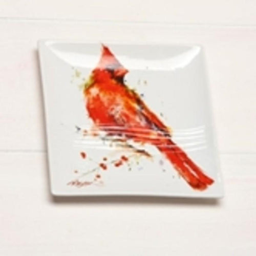 Nature, bird and butterfly inspired snack plates by Artist Dean Crouser-Magnificent! - The Pink Pigs, Fine Jewels and Gifts for People who Love Animals!