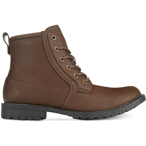 Nautica Rivington Men's Waterproof Boots Chocolate 9M-The Pink Pigs, A Compassionate Boutique