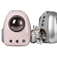 Pet Backpack Carrier-Good Times Ahead for Your Furry and Feathered Friends!-The Pink Pigs, A Compassionate Boutique