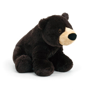 Plush Black Bear Large Size For Cuddling