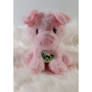 "Plush Pig ""STELLA""  Rooterville Animal Sanctuary's Inspiration"