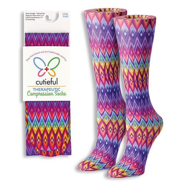 Knee High Compression Socks that are CUTE! Feel Good & Look Cute Too! - The Pink Pigs, A Compassionate Boutique