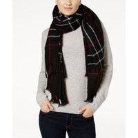 Ralph Lauren Oversized Knit Plaid Scarf 50% off Retail-The Pink Pigs, A Compassionate Boutique