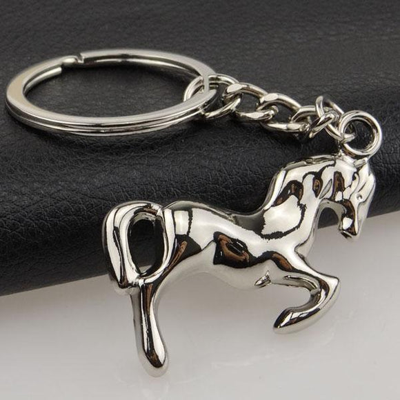 Horse Keychains-for the Equestrian or Horse Lover! Hi Ho Silver, Away! Very Beautiful Way to Carry Your Keys! - The Pink Pigs, A Compassionate Boutique
