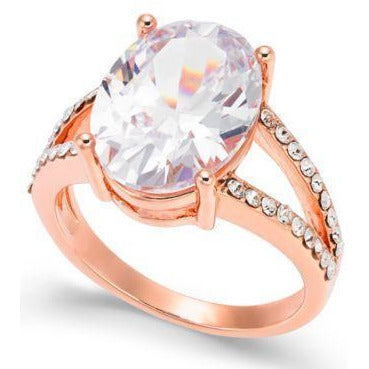 Special! CZ Rings, Rose Gold Plated-3 Styles $9.95! Charter Club-The Pink Pigs, A Compassionate Boutique