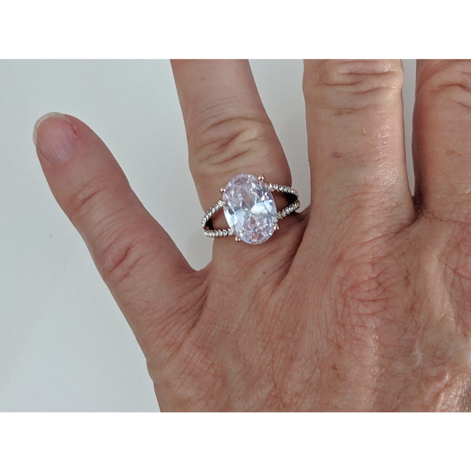 Special! CZ Rings, Rose Gold Plated-3 Styles $9.95! Charter Club