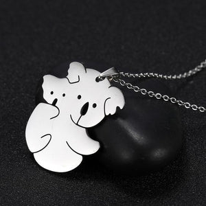 Stainless Steel Animal Necklaces for Our Animal Loving Friends!  Pig, Koala, Doggy, Cat, Owl Gold or Silver Tone