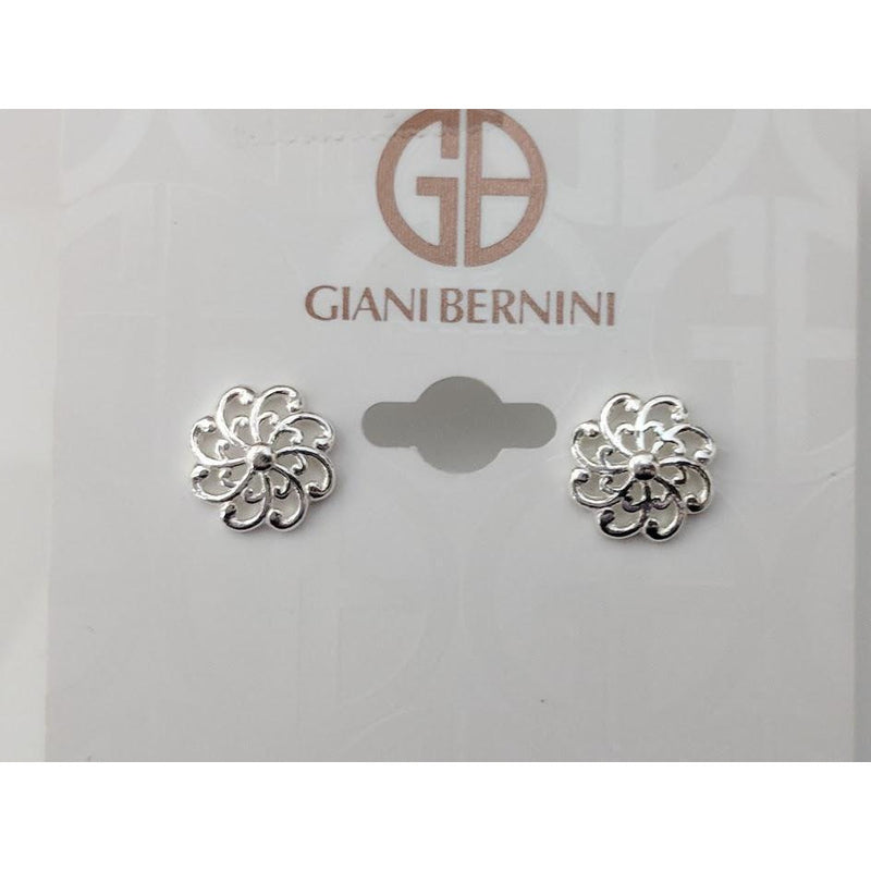 Sterling Silver Giani Bernini Earrings-Designer Jewelry over 50% OFF that HELPS Animals! - The Pink Pigs, A Compassionate Boutique