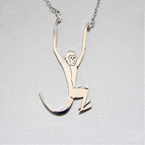 Sterling Silver Monkey Jewelry & Book, ALL Proceeds Help the Monkeys at Jungle Friends!