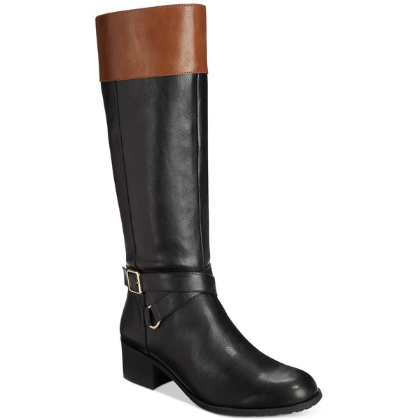 Style&Co Vedaa Blk/Barrel Riding Boots SZ 5M-The Pink Pigs, A Compassionate Boutique
